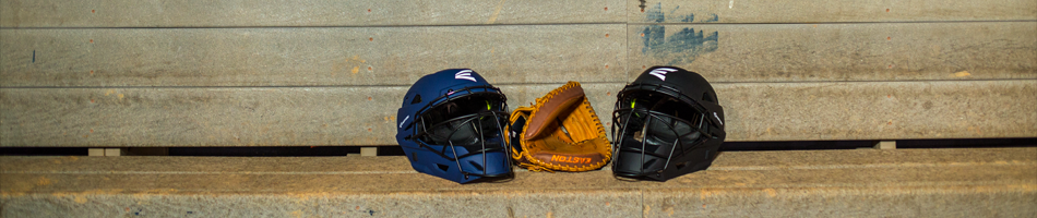adult baseball catcher's helmets from on deck sports