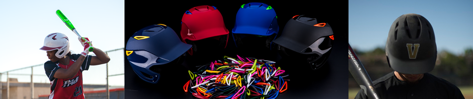 baseball and softball batting helmets accessories from on deck sports