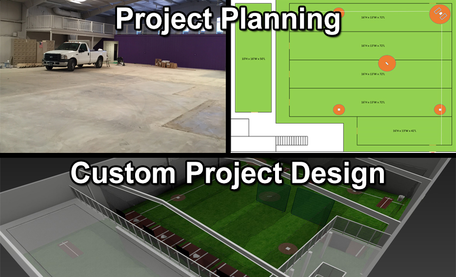 Facility planning design for Design indoor baseball facility