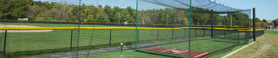 On Deck Sports Batting Cage Packages and Installation for Outdoor and Indoor Facilities