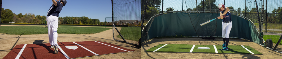 On Deck Sports Batting Mats, Batting Cage Mats, Hitting Mats, and More