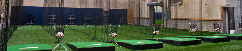 Indoor sports facilities design on deck sports for Design indoor baseball facility