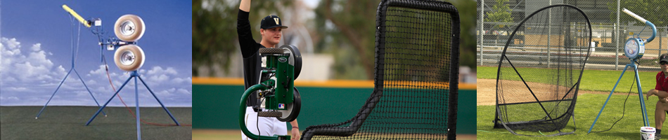 On Deck Sports Pitching Machines for Baseball and Softball