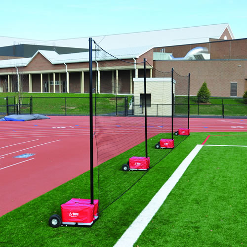 12' Portable Netting Barrier System