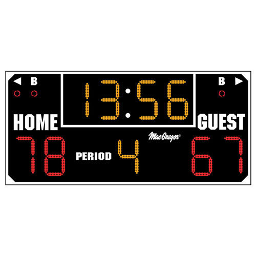 The Ultimate Indoor Scoreboard for Youth or Recreational Use
