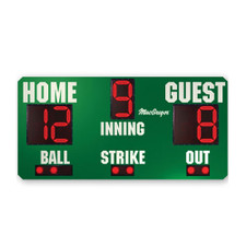 Outdoor Baseball Scoreboard
