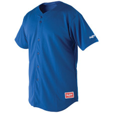 Rawlings Plated Full Button Jersey