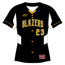 Rawlings WMBFB Full-Button Front Jersey