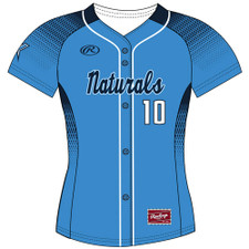 Rawlings WARZJ Full-Button Front Jersey