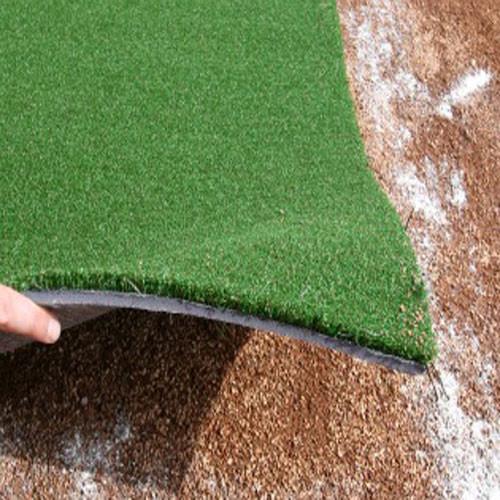 Padded Plain Green Batting Mat Pro