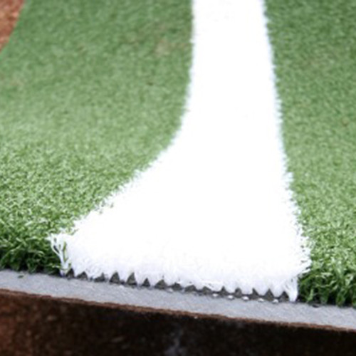 The Batting Mat Pro with Inlaid White Turf Lines
