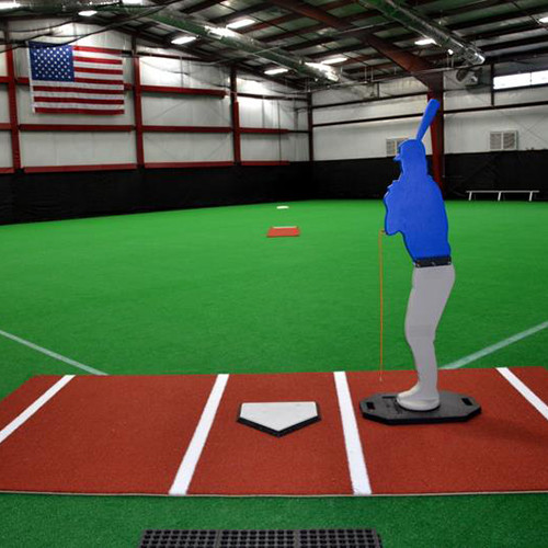 Clay Color Batting Mat Pro for Indoor & Outdoor Use