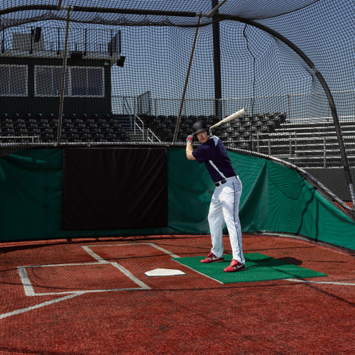 Artificial Turf Stance Mat for Baseball & Softball from On Deck Sports