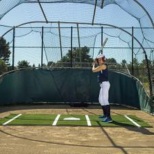 Softball Batting Mat Pro from On Deck Sports