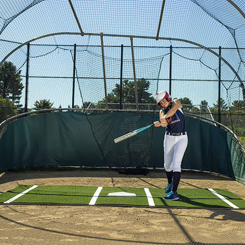 12' x 7' Softball Batting Mat Pro for Indoor & Outdoor Use