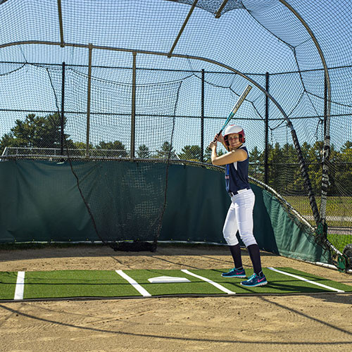 The Batting Mat Pro for Softball from On Deck Sports