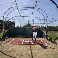 Clay Softball Batting Mat Pro from On Deck Sports