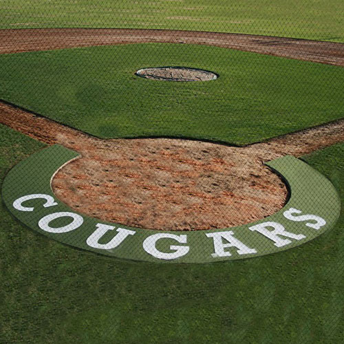 5' Artificial Turf Home Plate Halo from On Deck Sports