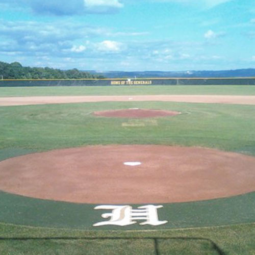 Artificial Turf 5' Home Plate Halo for Baseball & Softball Fields
