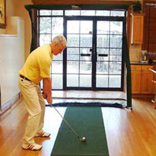2.5' x 9' Artificial Turf Golf Runner Mat for Indoor Golf Use