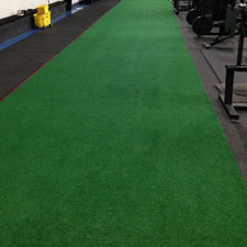 6' x 50' Artificial Turf Sled Strip for Indoor Gyms