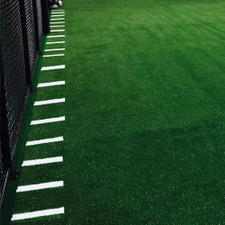Indoor Agility Turf Rolls with Inlaid White Hashmarks for Gyms