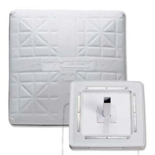Original Jack Corbett MLB Hollywood Bases Package with Bases, Anchors and Plugs