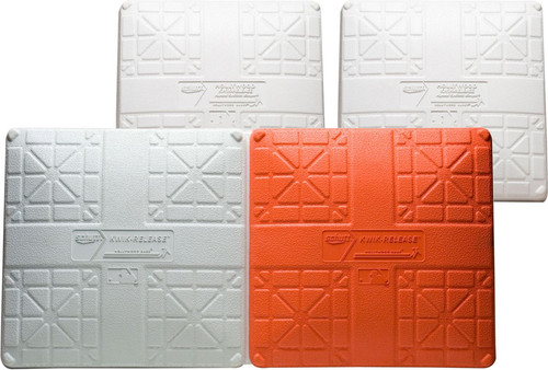 Varsity Set of Hollywood Impact Kwik-Release Double First Base for Softball