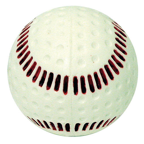 dimpled baseballs for pitching machine