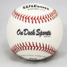Wilson A1030B Raised Seam High School Practice Baseballs