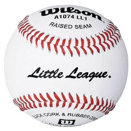 One Dozen Wilson A1074BLL1 Little League Baseball from On Deck Sports