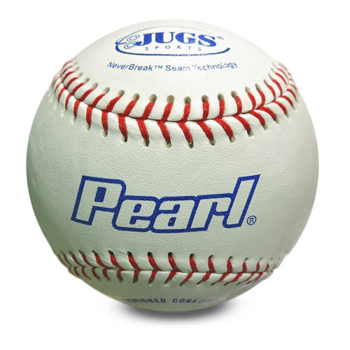 Jugs Pearl Leather Pitching Machine Baseballs