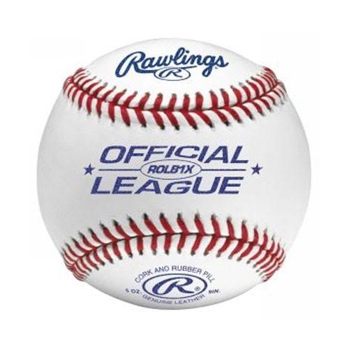 Three Dozen Rawlings ROLB1X Baseballs with On Deck Sports Ball Bucket