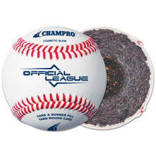 Champro Bucket of Raised Seam Youth League Practice Baseballs (5 Dozen)