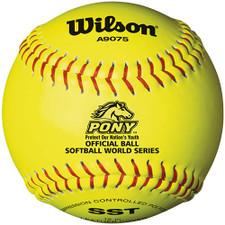 """Wilson A9075 12"""" Pony League Softball"""