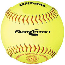 "Wilson ASA Fast Pitch Softballs 12"""