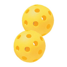 Yellow Plastic Softballs from On Deck Sports