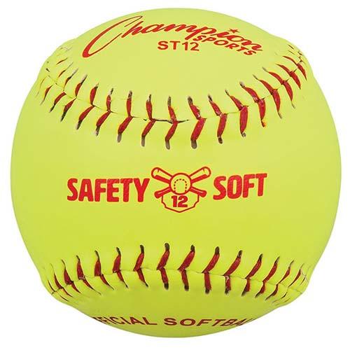 "One Dozen 12"" Safety Softballs from On Deck Sports"