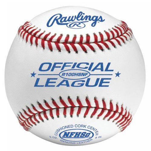 One Dozen Rawlings R100HSNF Raised Seam High School Baseballs from On Deck Sports
