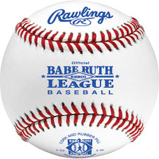Rawlings RBR01 Raised Seam Baseballs for Babe Ruth League from On Deck Sports