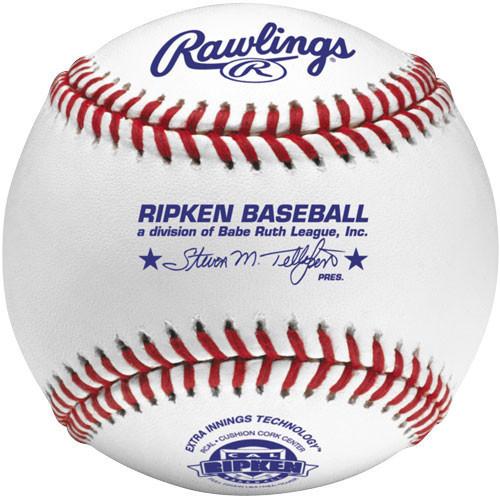 Rawlings RCAL1 Baseballs for Cal Ripken Baseball Leagues from On Deck Sports