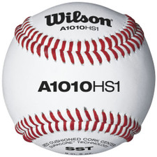 Wilson A1010BHS1SST Raised Seam High School Baseballs