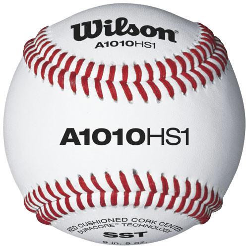 Wilson A1010BHS1SST Raised Seam Baseballs for High School Baseball from On Deck Sports