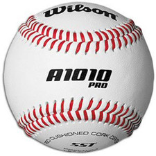 Wilson A1010BPROSST Raised Seam College Baseballs