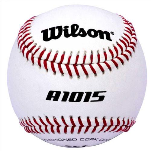 Wilson A1015BSST Raised Seam Baseballs for High School Play