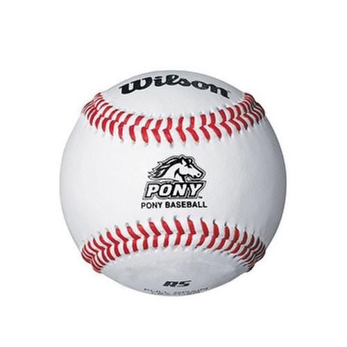 Wilson A1074BSST Pony League Baseballs