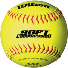 "12"" Wilson Soft Compression Softballs"