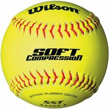 "12"" Wilson Soft Compression Softballs"