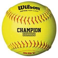 "12"" Wilson ASA A9106 Softballs"