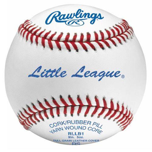 Rawlings RLLB1 Little League Baseballs
